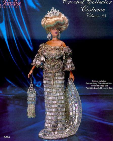 Хрустальное платье графини. Крючком