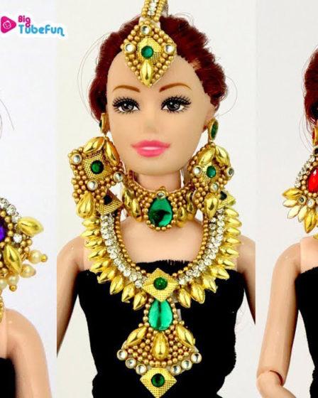 Индийские украшения для кукол. Мастер-класс