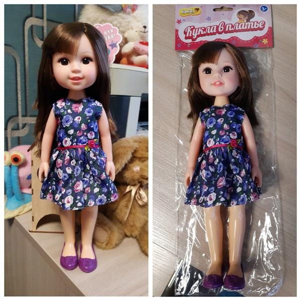 """Китайская кукла Dolly Toy """"Кукла в платье"""""""