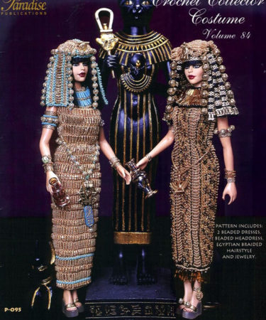 Два костюма царицы Клеопатры. Крючком