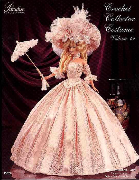 Платье леди из Луизианы. Крючком