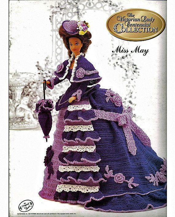 Платье Мисс Май 1993 года . Крючком