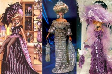 О вязаных бисерных нарядах
