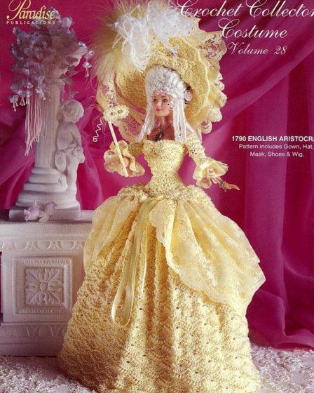 Платье английской аристократки. Крючком