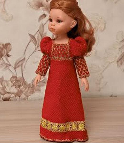 Платье Джульетты. Спицами для Паолы