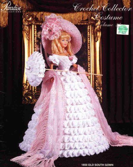 Платье Старого юга. Крючком для Барби