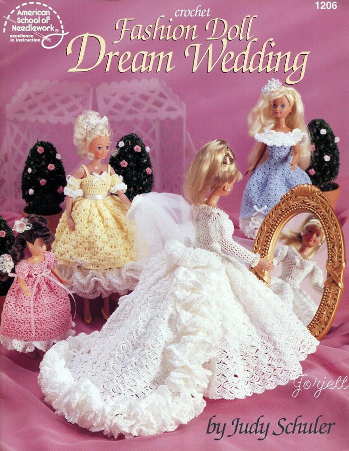 Свадьба мечты. Крючком платья
