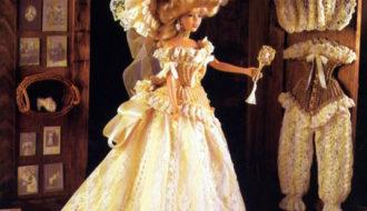 Викторианский костюм. Крючком